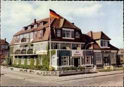 Postcard Wennigstedt Braderup auf Sylt, Nordseebad, Kurhotel Hammerich