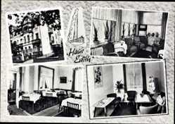 Postcard Bad Oeynhausen in Nordrhein Westfalen, Haus Edith, E.W. Reincke