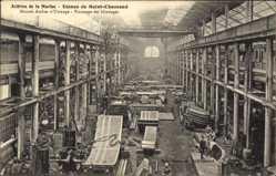 Ak Saint Chamond Loire, Acieries de la Marine, Usines, Atelier d'Usinage