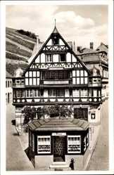 Postcard Assmannshausen Rüdesheim am Rhein, Die Bauernschänke