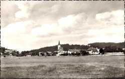 Postcard Gottsdorf Untergriesbach Bayr. Wald, Ortschaft mit Höhenberg