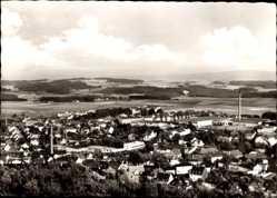 Postcard Helmbrechts im Kreis Hof Oberfranken, Gesamtansicht der Stadt