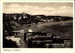Postcard Überlingen im Bodenseekreis Baden Württemberg, Partie am Bodensee, Stadt