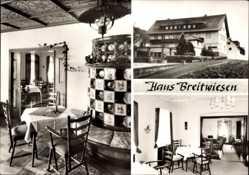 Postcard Ühlingen Birkendorf, Restaurant Haus Breitwiesen