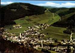 Postcard Silbach Winterberg im Sauerland, Talblick auf die Stadt
