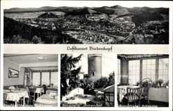 Postcard Biedenkopf an der Lahn, Gaststätte zum Rathaus, Inhaber M. Meier