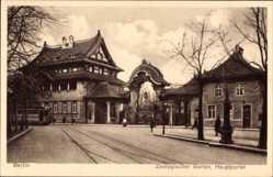 Postcard Berlin Tiergarten, Zoologischer Garten, Hauptportal