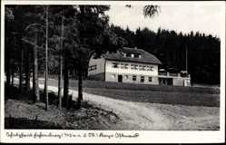 Postcard Waldthurn in der Oberpfalz, Schutzhaus Fahrenberg