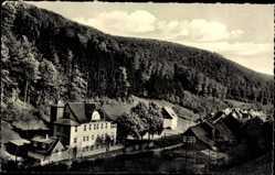 Postcard Lonau Herzberg am Harz in Niedersachsen, Waldhaus im Mariental