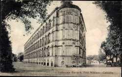 Postcard Kolkata Kalkutta Indien, Dalhousie Barrack, Fort William