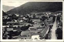 Postcard Trenčianske Teplice Trentschin Teplitz Slowakei, Celkovy pohlad