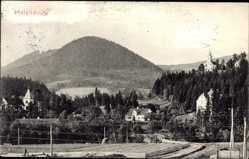 Postcard Malenovice Malenowitz Reg. Mährisch Schlesien, Berg, Kapelle, Ort