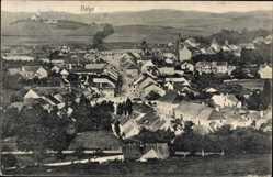 Ak Volyn Ukraine, Totalansicht der Ortschaft, Felder, Kirche, Häuser