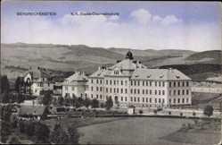 Ak Bergreichenstein Reg. Pilsen, K.K. Staats Oberrealschule, Felder