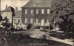 Ak Kjogegaard Dänemark, Gammel, Blick auf ein Haus, Rankenbewuchs