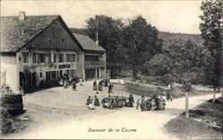 Ak La Tourne Kt. Neuenburg Schweiz, Hotel de la Tourne, Kinder