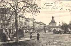 Postcard Bonn in Nordrhein Westfalen, Kaiserplatz, Straßenpartie
