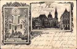 Passepartout Ak Aachen in Nordrhein Westfalen, Aachener Heiligtumsfahrt, Dom