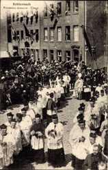 Ak Echternach Luxemburg, Procession dansante, Clergé