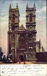 Künstler Ak London City, View of Westminster Abbey, Tuck 770