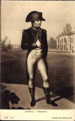 Künstler Ak Isabey, Portrait von Napoleon Bonaparte, Musee de Versailles