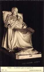 Künstler Ak Vela, Les Derniers Jours de Napoleon 1er, Musee de Versailles