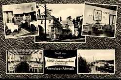 Postcard Arendsee Altmark, FDGB Erholungsheim Waldheim, Innenansicht
