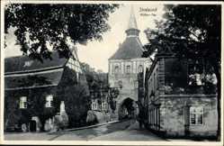 Ak Stralsund in Mecklenburg Vorpommern, Blick auf das Köther Tor, Turm