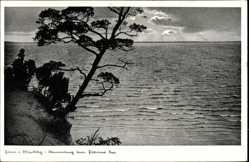 Postcard Luftkurort Plau am See, Stimmung am Plauer See, Sonnenuntergang