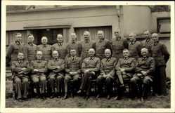 Foto Ak Gruppenfoto von Offizieren der Wehrmacht, Uniform