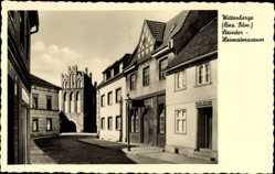 Postcard Wittenberge in der Prignitz, Partie am Steintor, Heimatmuseum