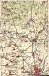 Landkarten Ak Magdeburg in Sachsen Anhalt, Wolmirstedt, Ebendorf, Hermsdorf