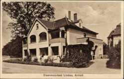 Postcard Lindau in Anhalt, Blick auf das Eisenmoorbad