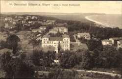 Postcard Ostseebad Göhren auf Rügen, Blick vom Hotel Nordpeerd