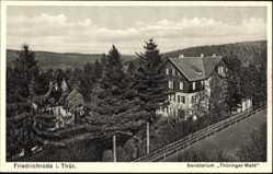 Postcard Friedrichroda im Thüringer Wald, Das Sanatorium Thüringer Wald