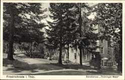 Postcard Friedrichroda im Thüringer Wald, Sanatorium Thüringer Wald