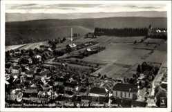 Postcard Finsterbergen Friedrichroda Thüringen, Fliegeraufnahme, Landhaus Hartung