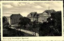 Postcard Egendorf Blankenhain in der Talsenke der Schwarza, Thür. Staatsschule