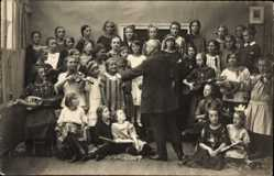 Foto Ak Havelberg in Sachsen Anhalt, Gesangschor der Mädchen Mittelschule