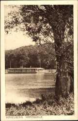 Postcard Havelberg in Sachsen Anhalt, Blick zur Hafenquelle, Restaurant