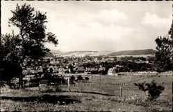 Postcard Heilbad Heiligenstadt Eichsfeld, Stadtpanorama, Glockenturm, Wiese