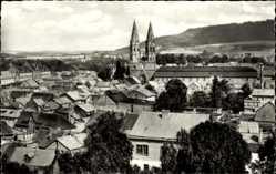 Postcard Heilbad Heiligenstadt in Thüringen, Stadtpanorama, Glockentürme, Gebäude