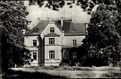 Postcard Plaue Flöha in Sachsen, Genesungsheim Paul Jäckel, Fassade