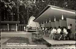 Postcard Ehrenfriedersdorf im Erzgebirge, Freitanz Diele am Berghaus Greifenstein