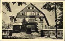 Postcard Eibenstock im Erzgebirge Sachsen, FDGB Feriendienst, Ernst Schneller Heim