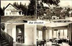 Postcard Bad Brambach im Vogtland, Jugendherberge Helmut Just, Klubraum