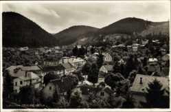 Postcard Friedrichroda im Thüringer Wald, Totalansicht der Ortschaft