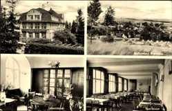 Postcard Bad Brambach im Vogtland, Kinder Erholungsheim, Gewerkschaft Unterricht