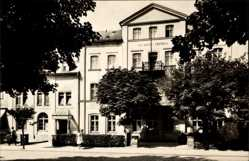 Postcard Bad Elster im Vogtland, HO Hotel Central, Vorderansicht