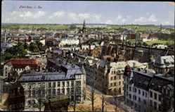 Postcard Zwickau in Sachsen, Blick über die Dächer auf die Umgebung